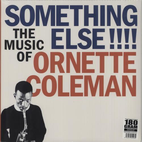Ornette Coleman Something Else!!!! - 180gm - Sealed vinyl LP album (LP record) Italian ORCLPSO674767