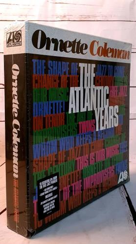 Ornette Coleman The Atlantic Years Vinyl Box Set UK ORCVXTH756244