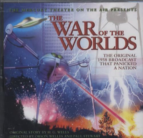 Orson Welles The War Of The Worlds CD album (CDLP) UK OS9CDTH344902