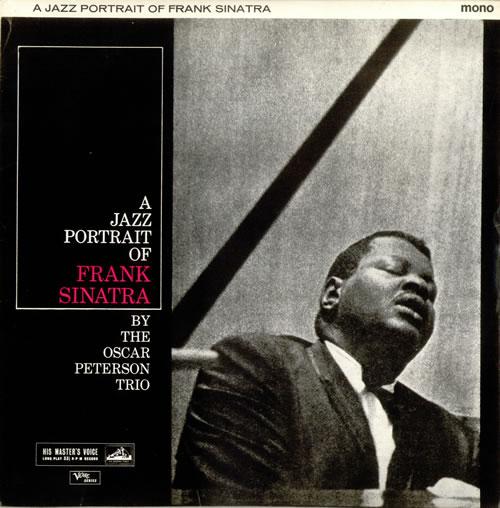Oscar Peterson A Jazz Portrait Of Frank Sinatra - Black & Silver vinyl LP album (LP record) UK OP1LPAJ533334