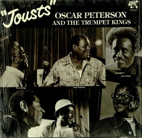 Oscar Peterson Jousts vinyl LP album (LP record) US OP1LPJO452577