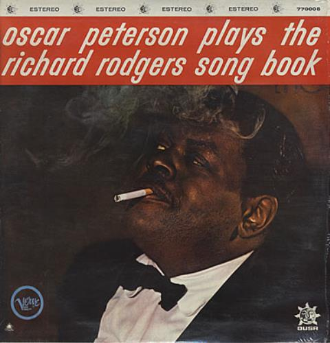 Oscar Peterson Plays The Richard Rodgers Song Book vinyl LP album (LP record) Mexican OP1LPPL376593