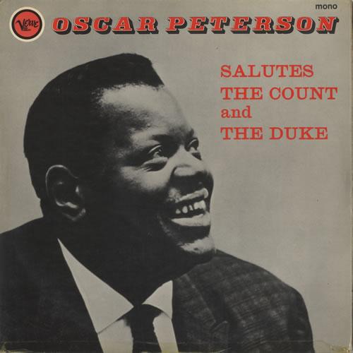 Oscar Peterson Salutes The Count And The Duke vinyl LP album (LP record) UK OP1LPSA533518