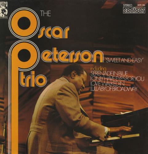 Oscar Peterson Sweet And Easy vinyl LP album (LP record) UK OP1LPSW374934