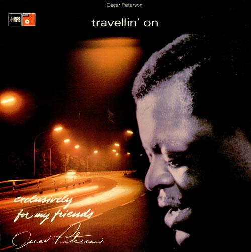 Oscar Peterson Travellin' On vinyl LP album (LP record) UK OP1LPTR409060
