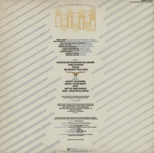 Osibisa Osibisa Unleashed (Original Live Recording - Concert Tour India - '81 vinyl LP album (LP record) UK OSILPOS755160