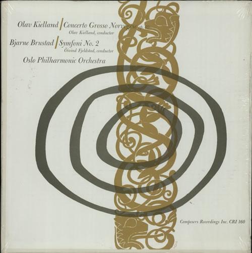 Oslo Philharmonic Orchestra Kielland: Concerto Grosso Norvegese / Brustad: Symfoni No. 2 vinyl LP album (LP record) US OVSLPKI633139