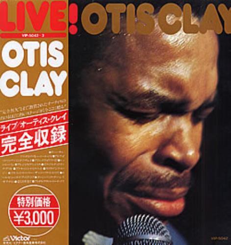 Otis Clay Live! 2-LP vinyl record set (Double Album) Japanese O.C2LLI280453