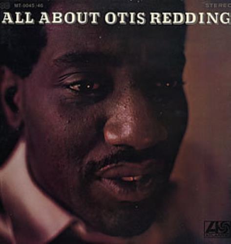 Otis Redding All About Otis Redding 2-LP vinyl record set (Double Album) Japanese OTI2LAL279953