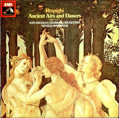 Ottorino Respighi Ancient Airs and Dances - Suites 1, 2 & 3 vinyl LP album (LP record) UK RLXLPAN525479