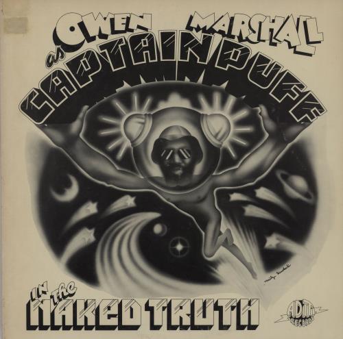 Owen Marshall Captain Puff In The Naked Truth - 1st + PR enclosures vinyl LP album (LP record) US 214LPCA761653