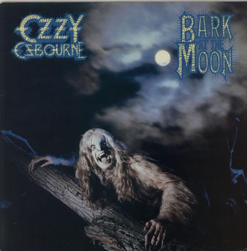 Ozzy Osbourne Bark At The Moon - 2nd vinyl LP album (LP record) UK OZZLPBA590630