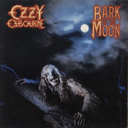 Ozzy Osbourne Bark At The Moon Uk Vinyl Lp Album Lp