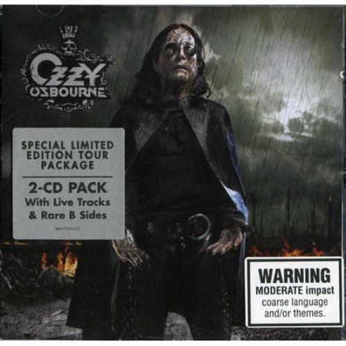 Ozzy Osbourne Black Rain Australian 2 Cd Album Set Double
