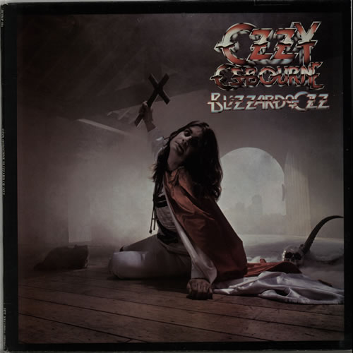 Ozzy Osbourne Blizzard Of Ozz - Jet Labels vinyl LP album (LP record) UK OZZLPBL625930