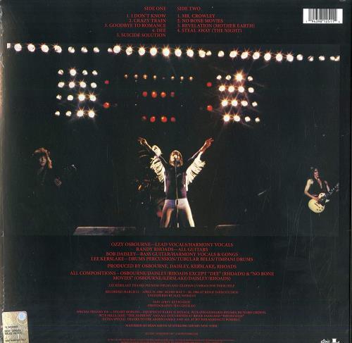 Ozzy Osbourne Blizzard Of Ozz - Silver & Red Swirl Vinyl - Sealed vinyl LP album (LP record) UK OZZLPBL771484