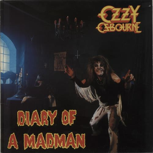 Ozzy Osbourne Diary Of A Madman vinyl LP album (LP record) UK OZZLPDI180417