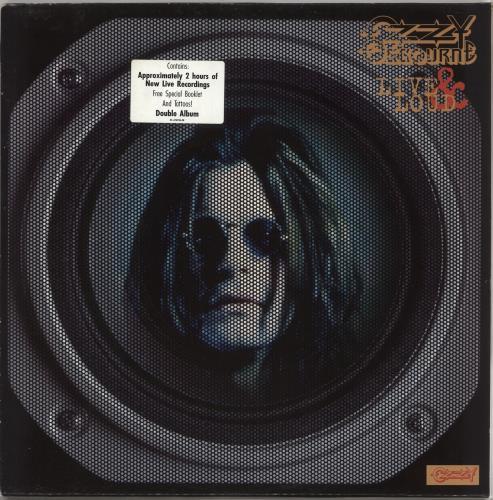 Ozzy Osbourne Live & Loud 2-LP vinyl record set (Double Album) Dutch OZZ2LLI177870