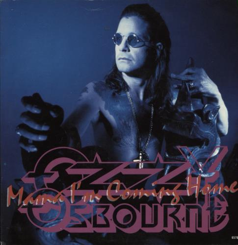 "Ozzy Osbourne Mama I'm Coming Home 7"" vinyl single (7 inch record) UK OZZ07MA106429"