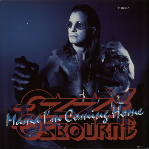 "Ozzy Osbourne Mama I'm Coming Home 12"" vinyl single (12 inch record / Maxi-single) UK OZZ12MA55043"