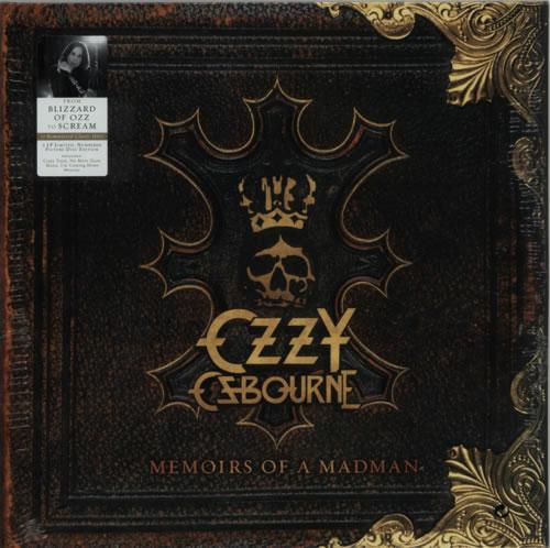 Ozzy Osbourne Memoirs Of A Madman - Picture Discs - Sealed 2-LP vinyl record set (Double Album) UK OZZ2LME614087