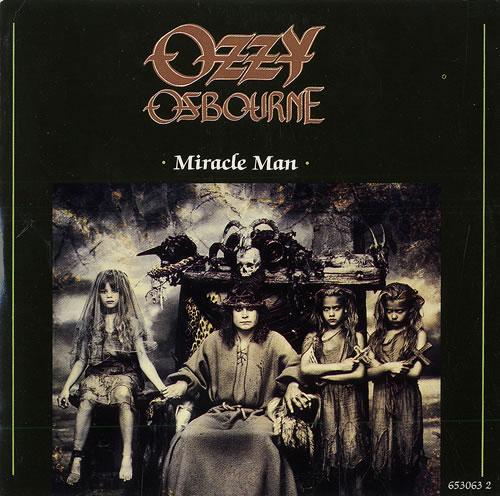 ozzy osbourne miracle man uk cd single cd5 5 19515. Black Bedroom Furniture Sets. Home Design Ideas