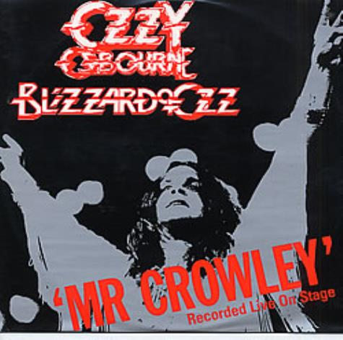 "Ozzy Osbourne Mr Crowley 12"" vinyl single (12 inch record / Maxi-single) UK OZZ12MR00971"