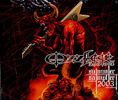 Ozzy Osbourne No Easy Way Out - on Ozzfest 2003 Summer Sampler CD album (CDLP) US OZZCDNO256158