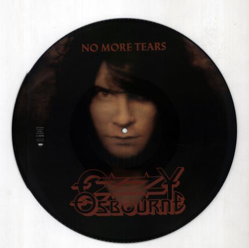 "Ozzy Osbourne No More Tears 12"" vinyl picture disc 12inch picture disc record UK OZZ2PNO675223"