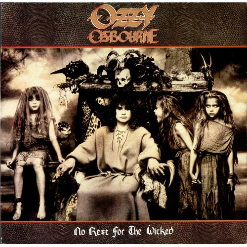 Ozzy Osbourne No Rest For The Wicked vinyl LP album (LP record) UK OZZLPNO426061
