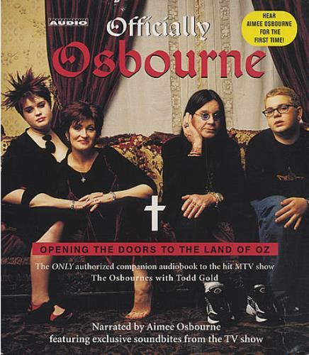 Ozzy Osbourne Officially Osbourne CD album (CDLP) US OZZCDOF387448