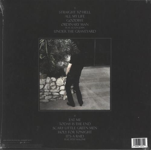 Ozzy Osbourne Ordinary Man - Black, White & Grey Marbled Vinyl - Sealed vinyl LP album (LP record) UK OZZLPOR739979