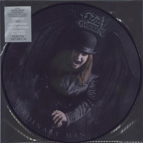 Ozzy Osbourne Ordinary Man picture disc LP (vinyl picture disc album) UK OZZPDOR739977