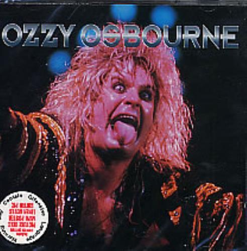 Ozzy Osbourne Ozztalk CD album (CDLP) UK OZZCDOZ269299