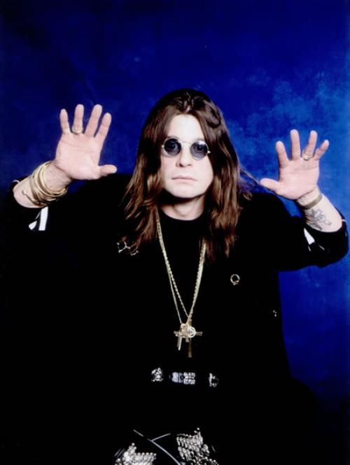 Ozzy Osbourne Ozzy Osbourne - By Ray Palmer photograph UK OZZPHOZ501511