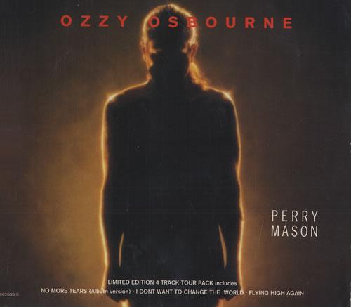 "Ozzy Osbourne Perry Mason CD single (CD5 / 5"") UK OZZC5PE177471"