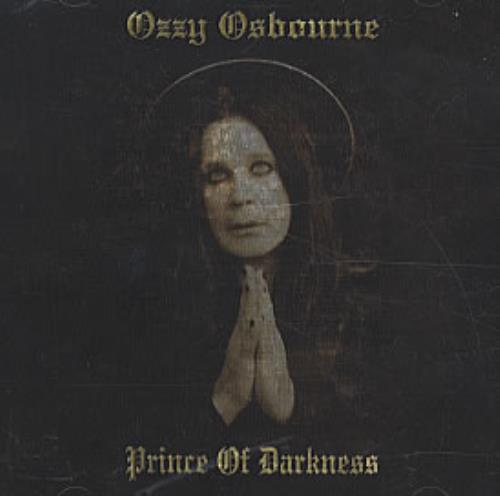 Ozzy Osbourne Prince Of Darkness CD album (CDLP) US OZZCDPR319994