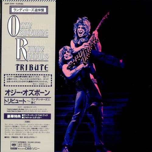 cd ozzy osbourne - tribute to randy rhoads