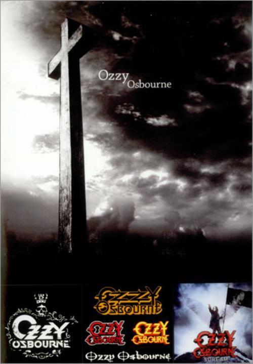 Ozzy Osbourne Scream Now! handbill Japanese OZZHBSC526822