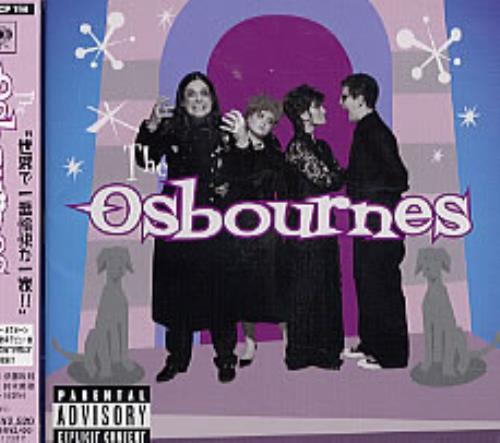 Ozzy Osbourne The Osbourne Family Album CD album (CDLP) Japanese OZZCDTH224038