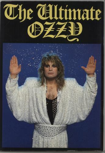 Ozzy Osbourne The Ultimate Sin Tour Program tour programme Japanese OZZTRTH179149
