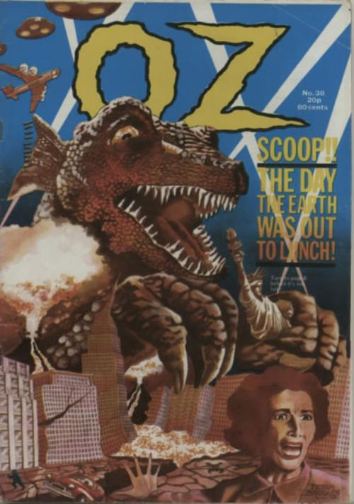 OZ Magazines No. 38 - Scoop!! The Day The Earth Was Out To Lunch magazine UK OZMMANO622180