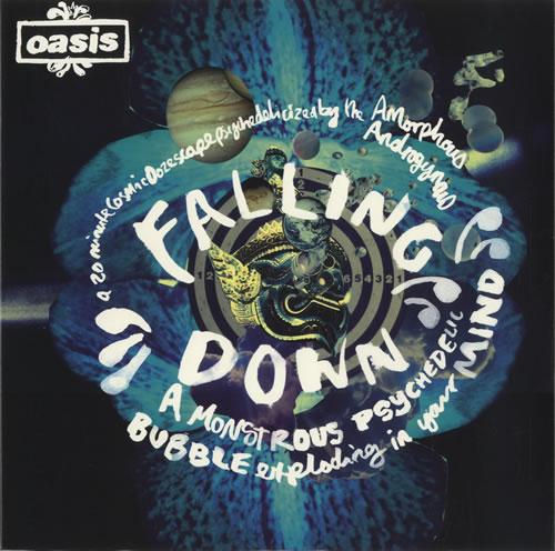 "Oasis Falling Down 12"" vinyl single (12 inch record / Maxi-single) UK OAS12FA462143"