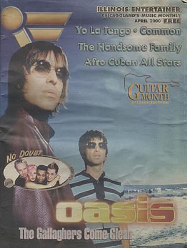 Oasis Guitar Month magazine US OASMAGU330348