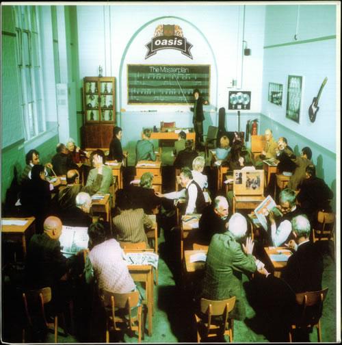 Oasis The Masterplan + Mailer box set UK OASBXTH454690