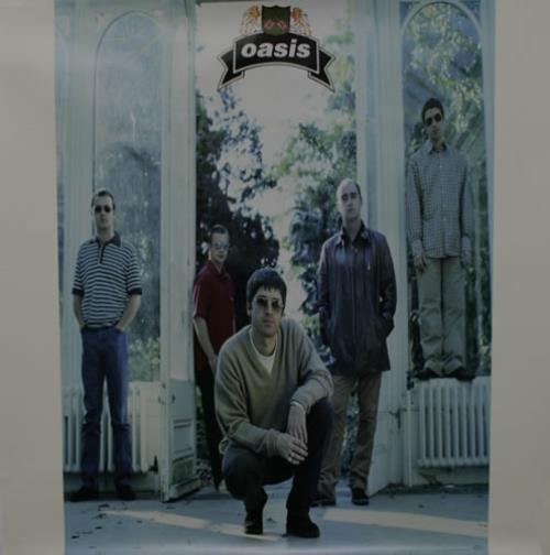 Oasis The Masterplan - Set of 2 posters US Promo poster ... Oasis Masterplan