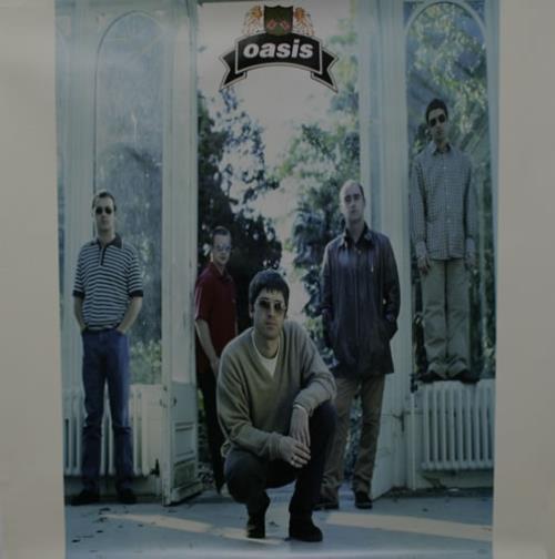 Oasis The Masterplan - Set of 2 posters US Promo poster ... Oasis Masterplan