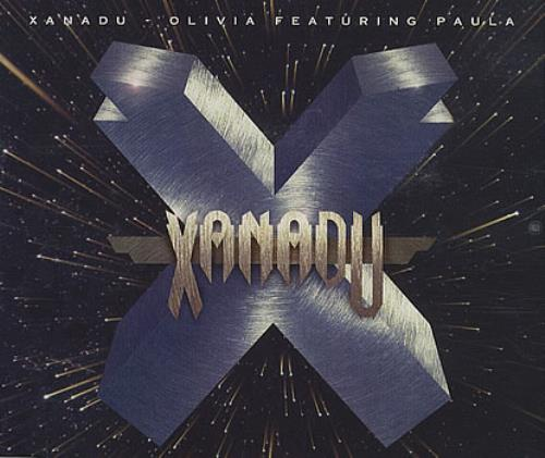 "Olivia Newton John Xanadu Feat Paula CD single (CD5 / 5"") Australian ONJC5XA63216"