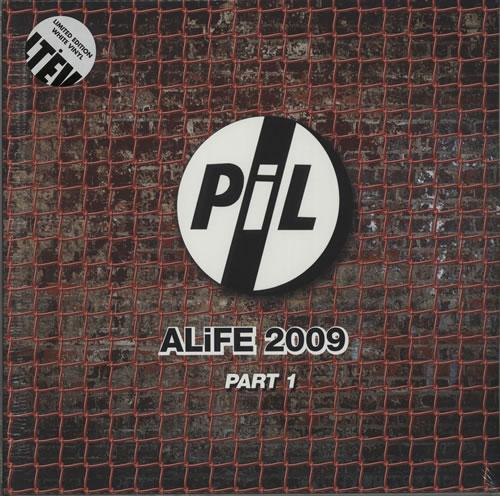 P.I.L. ALiFE 2009 [Volumes 1 & 2] - RSD 15 - Coloured Vinyl 4-LP vinyl album set (4 records) UK PIL4LAL628195