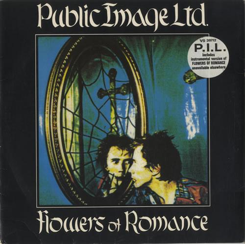 """P.I.L. Flowers Of Romance 12"""" vinyl single (12 inch record / Maxi-single) UK PIL12FL129058"""
